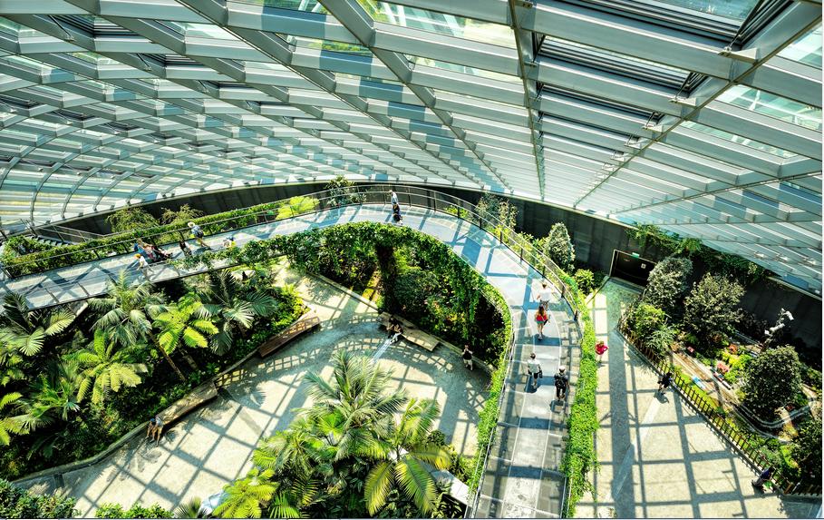Vườn treo Beau Rivage Nha Trang