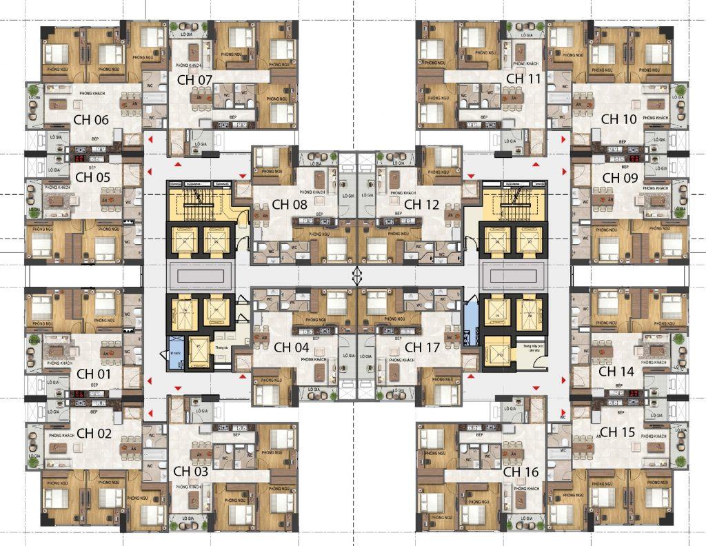Dự án Dreamland 23 Duy Tân tầng 22 - 31