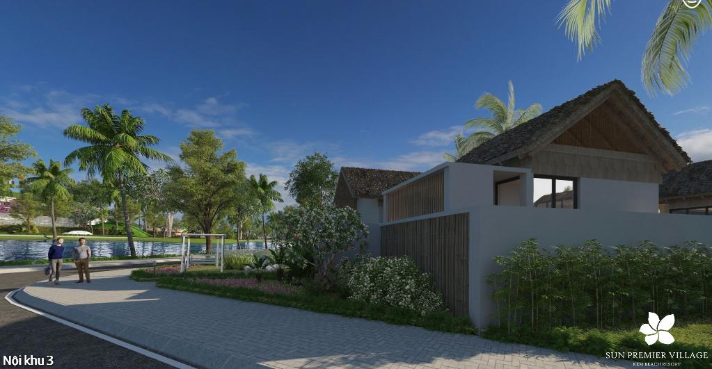 Khu biệt thự Premier Village bãi Khem