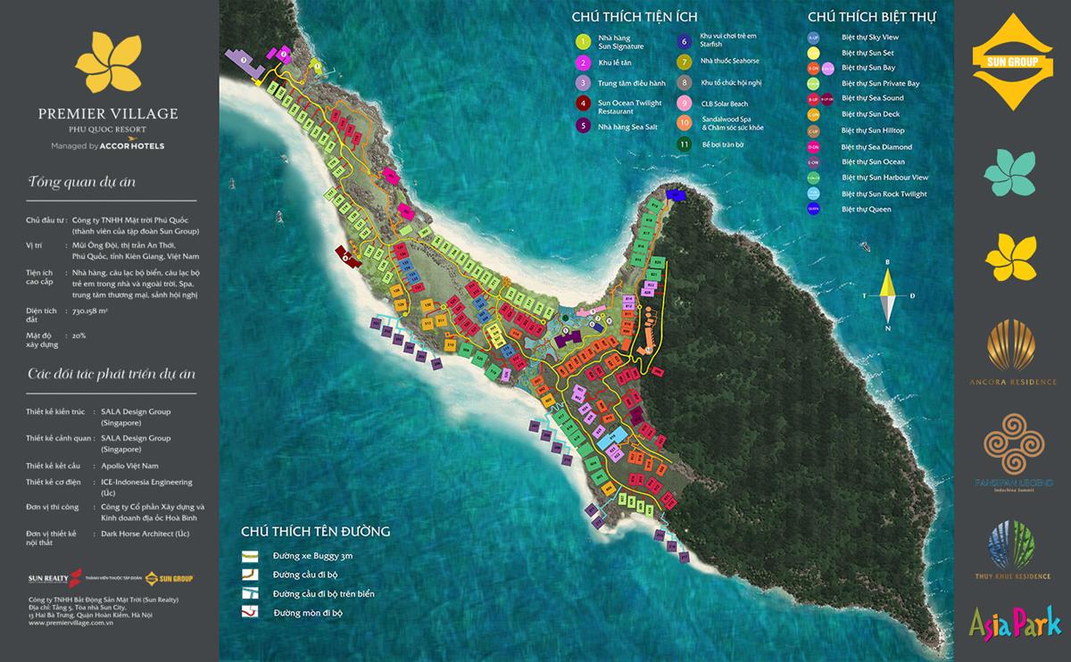 Tiện ích dự án Premier Village Phú Quốc mũi Ông Đội