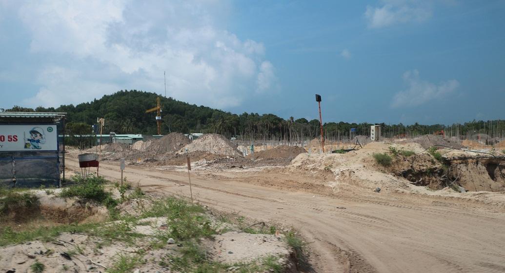 Tiến độ xây dựng biệt thự D Premier Village Kem Beach