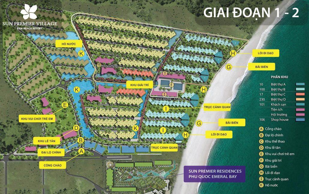 Tiện ích biệt thự bãi Kem Phú Quốc