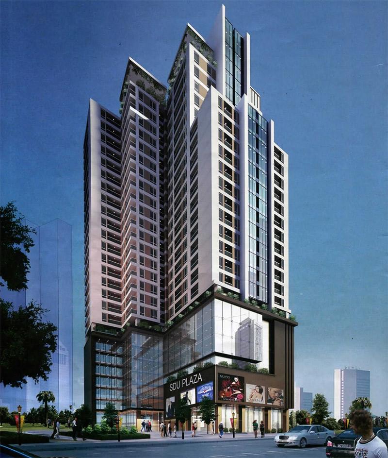Dự án chung cư Liễu Giai Tower