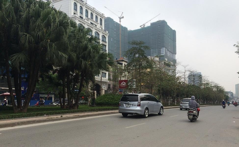 Đường Liễu Giai trước mặt dự án Liễu Giai Tower