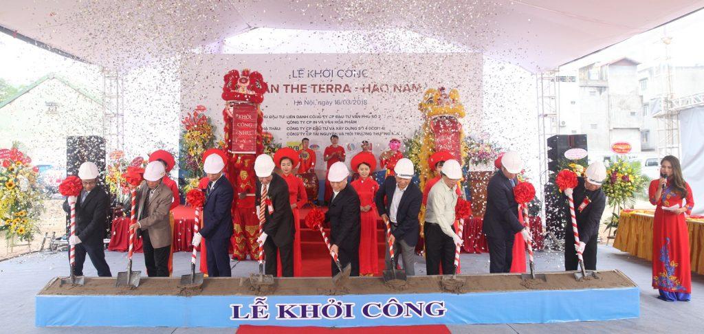 Khởi công xây dựng dự án Terra Hào Nam
