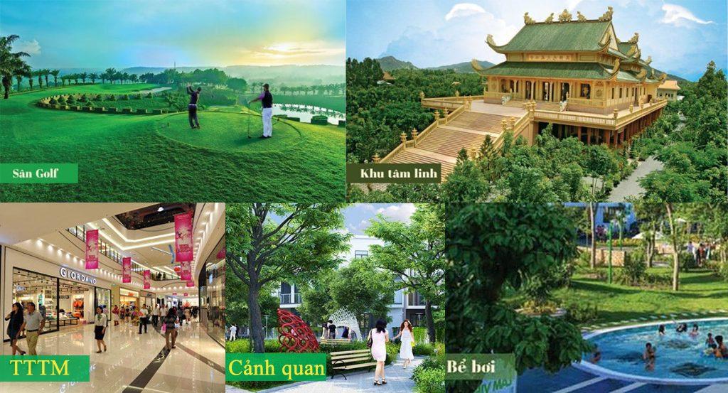 Tiện ích khu dân cư Đông Tây Thái Nguyên
