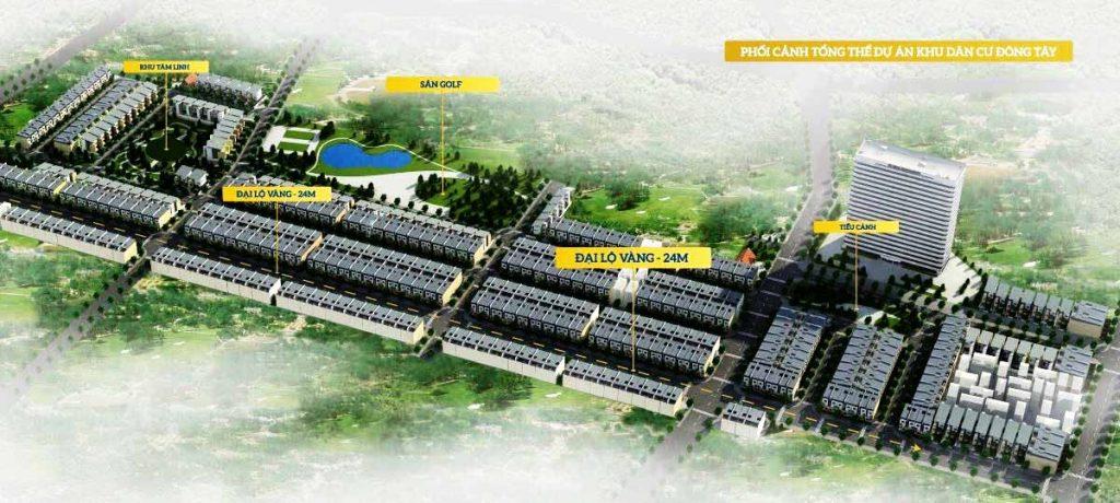 Khu dân cư Đông Tây Phổ Yên Thái Nguyên