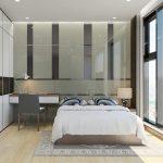 Phòng ngủ chung cư 23 Duy Tân