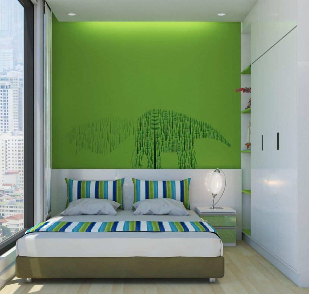 Phòng ngủ nhỏ dự án 23 Duy Tân