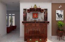 Phong thủy kê bàn thờ