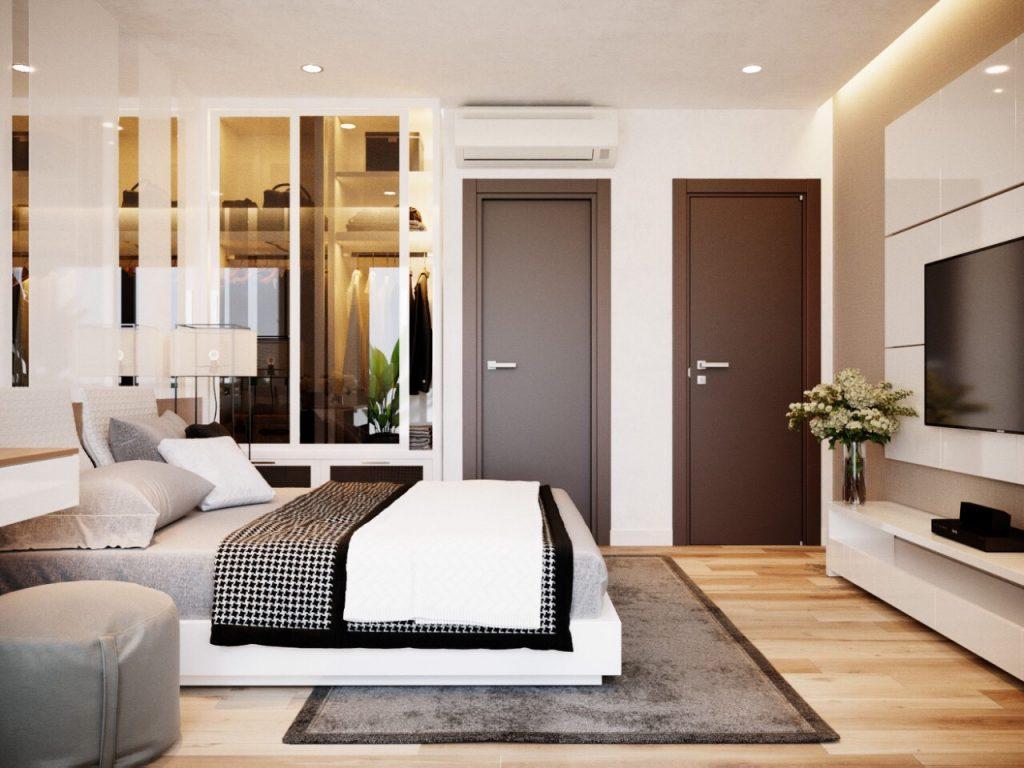Phòng ngủ căn hộ Thái Nguyên Tower