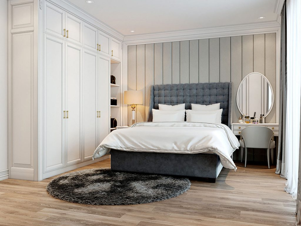 Phòng ngủ liền kề Long Việt Riverside