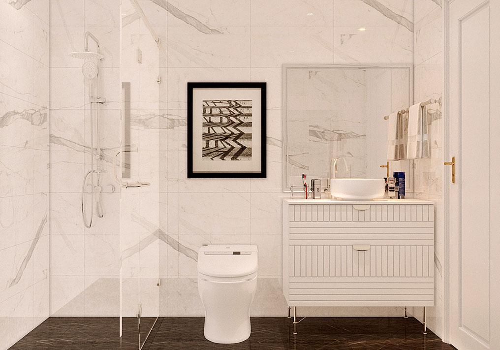 Nhà vệ sinh liền kề Long Việt Riverside