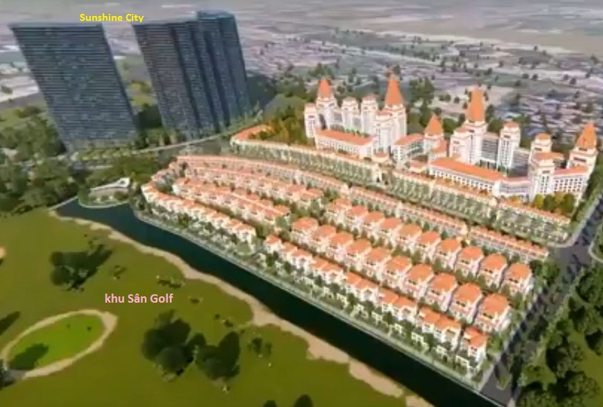 Dự án biệt thự sunshine wonder villas