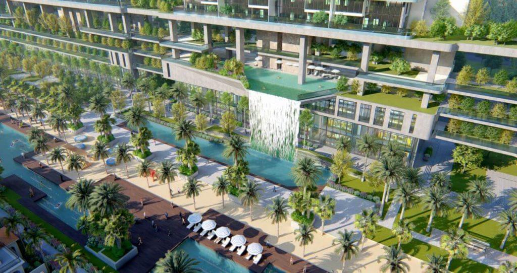 Cảnh biệt thự sunshine sky villa
