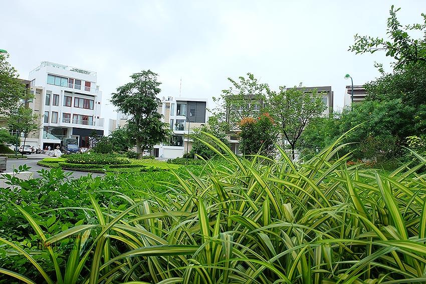 cảnh quan khu biệt thự central park