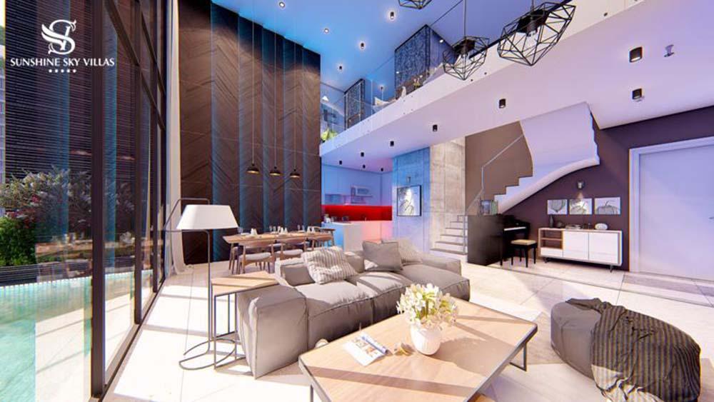 Thiết kế biệt thự sunshine sky villa