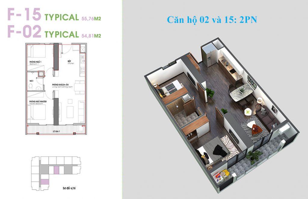 Căn hộ số 2 và 15 An Bình Plaza