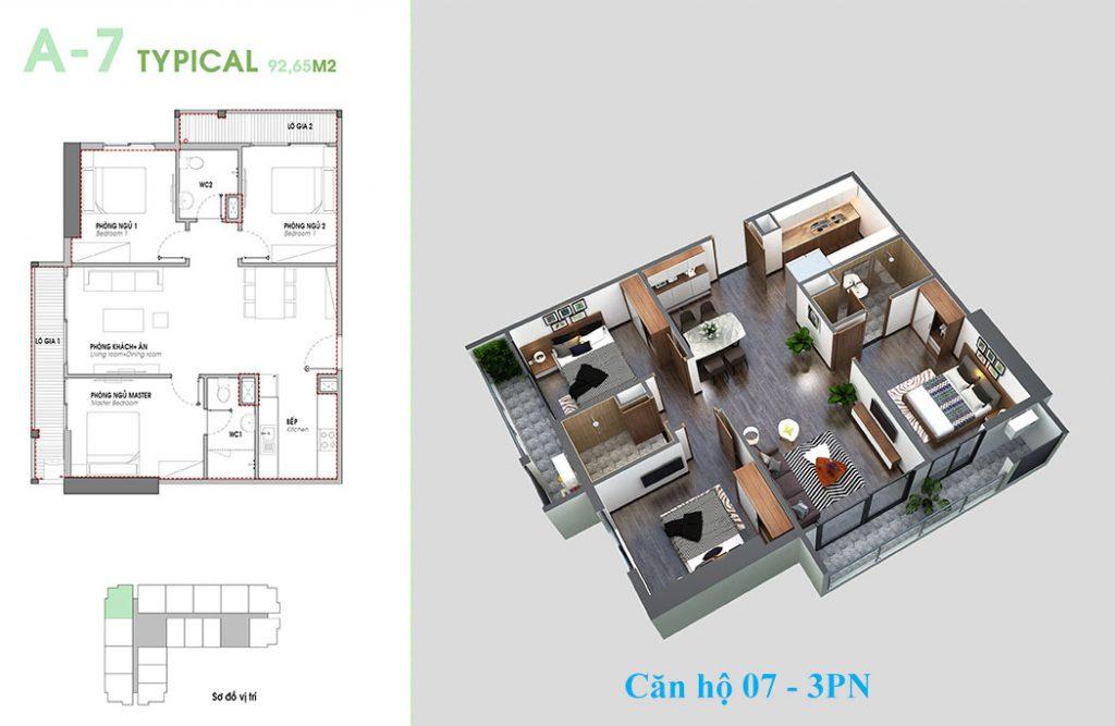 Thiết kế căn hộ 07 An Bình Plaza