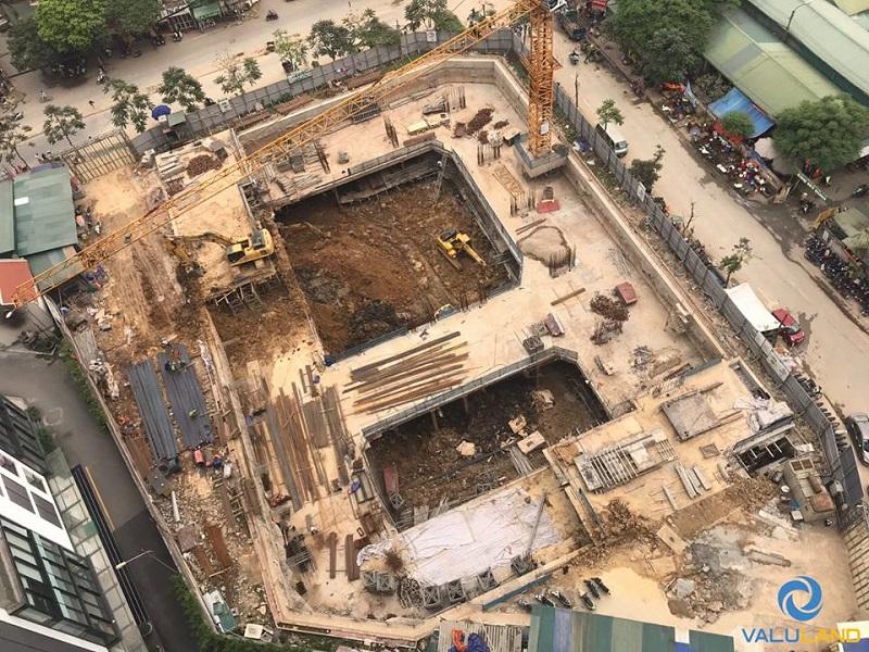 tiến độ xây dựng an bình plaza