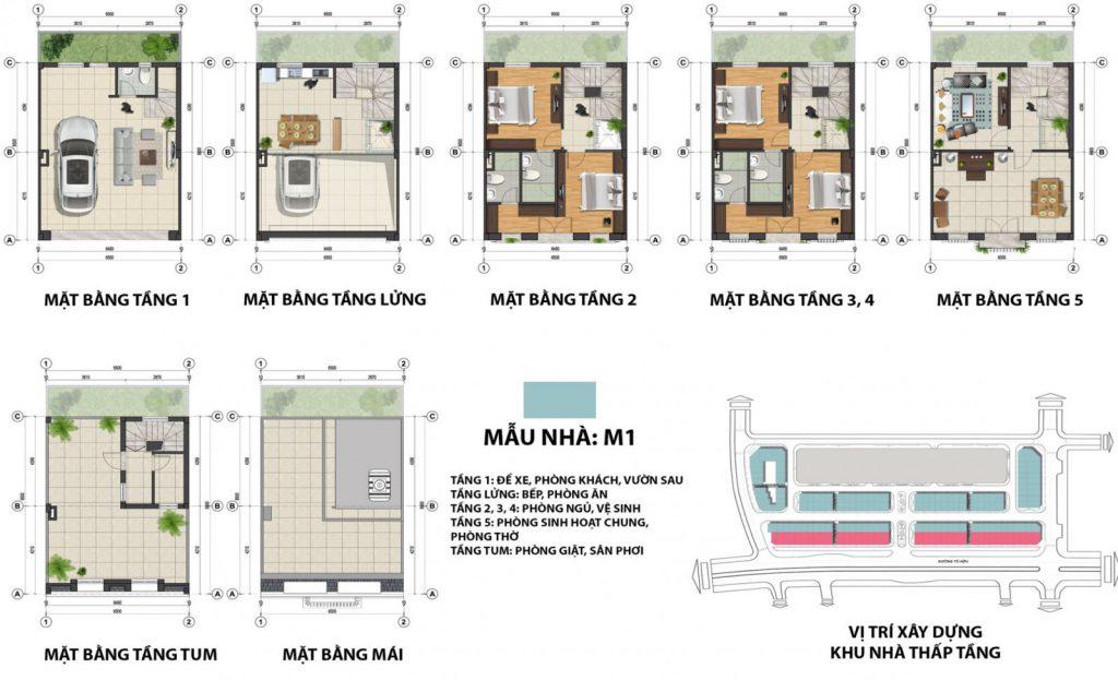 Thiết kế shophouse terra an hưng tố hữu