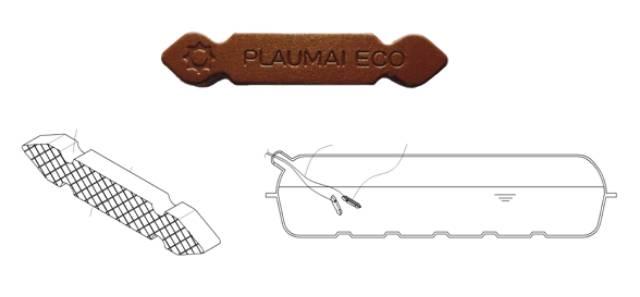 Thanh gốm plaumai eco