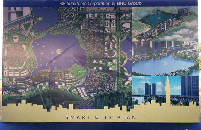 bản đồ smart city đông anh