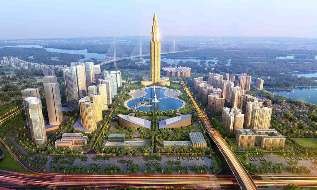 tháp tài chính 108 tầng