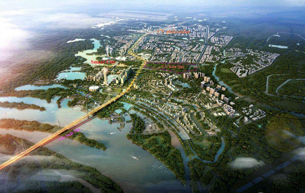 tổng thể Smart City Đông Anh