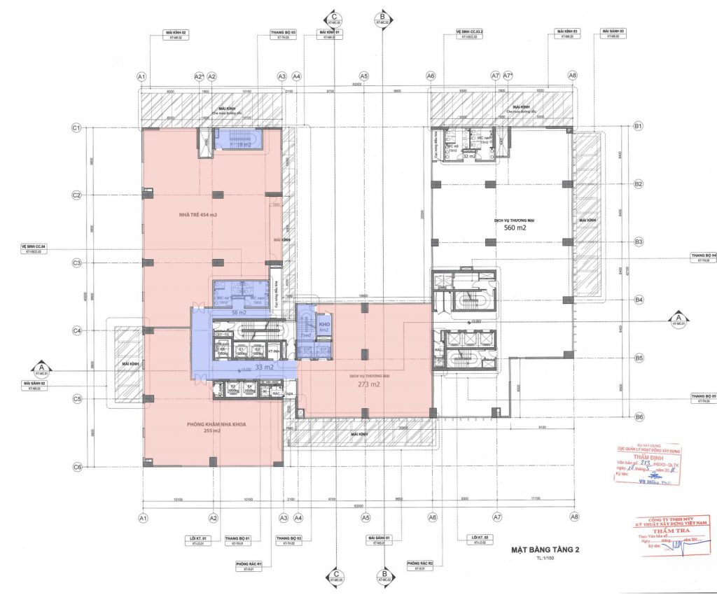 tầng thương mại DLC complex