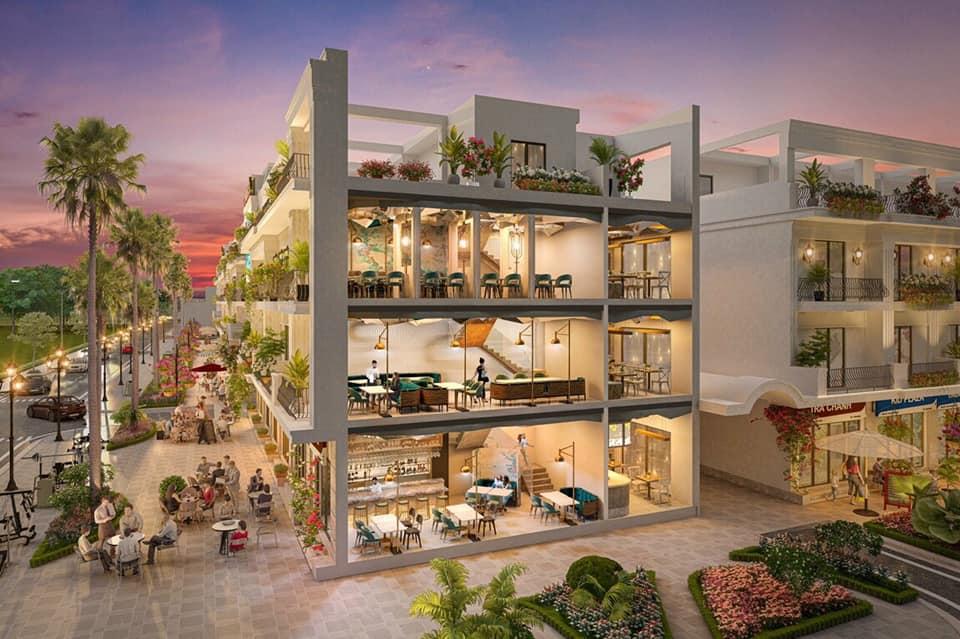 Thiết kế shophouse Phương Liễu